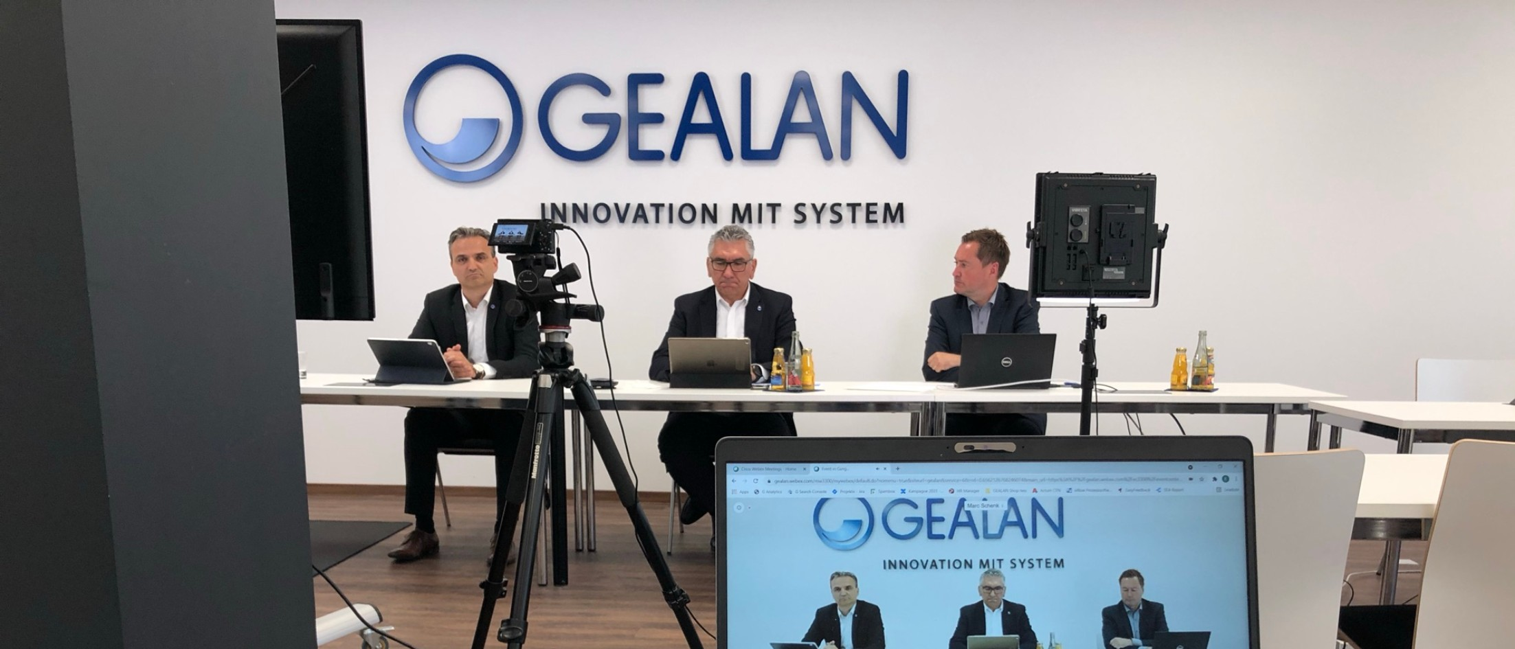 GEALAN press conference