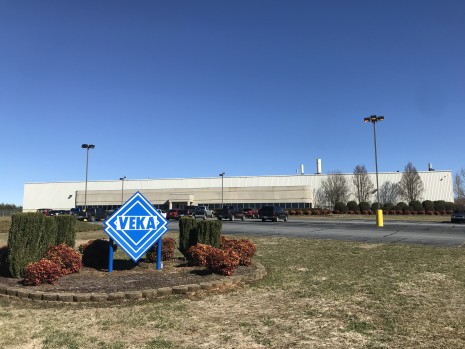 VEKA East in Morganton, North Carolina