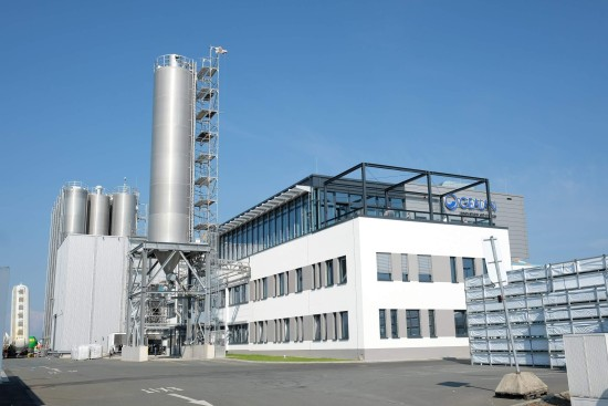 Production site in Tanna, Germany