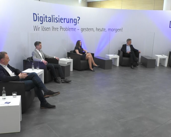 Discussion panel on the topic of digitization at the TEC Conference 2021