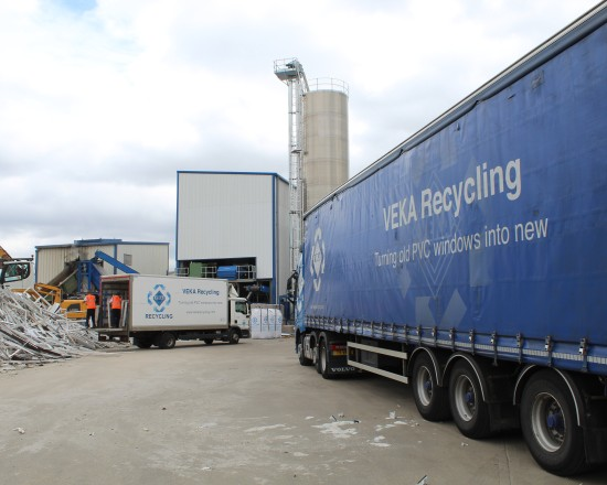 VEKA Recycling plant in Wellingborough